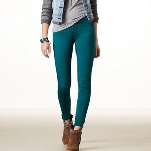 The Limited Legging Jeans in Teal